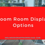 Zoom Room Display Options