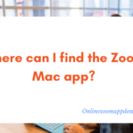 Where can I find the Zoom Mac app?
