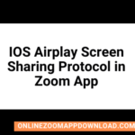 IOS Airplay Screen Sharing Protocol in Zoom App