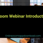 Zoom Webinar Introduction